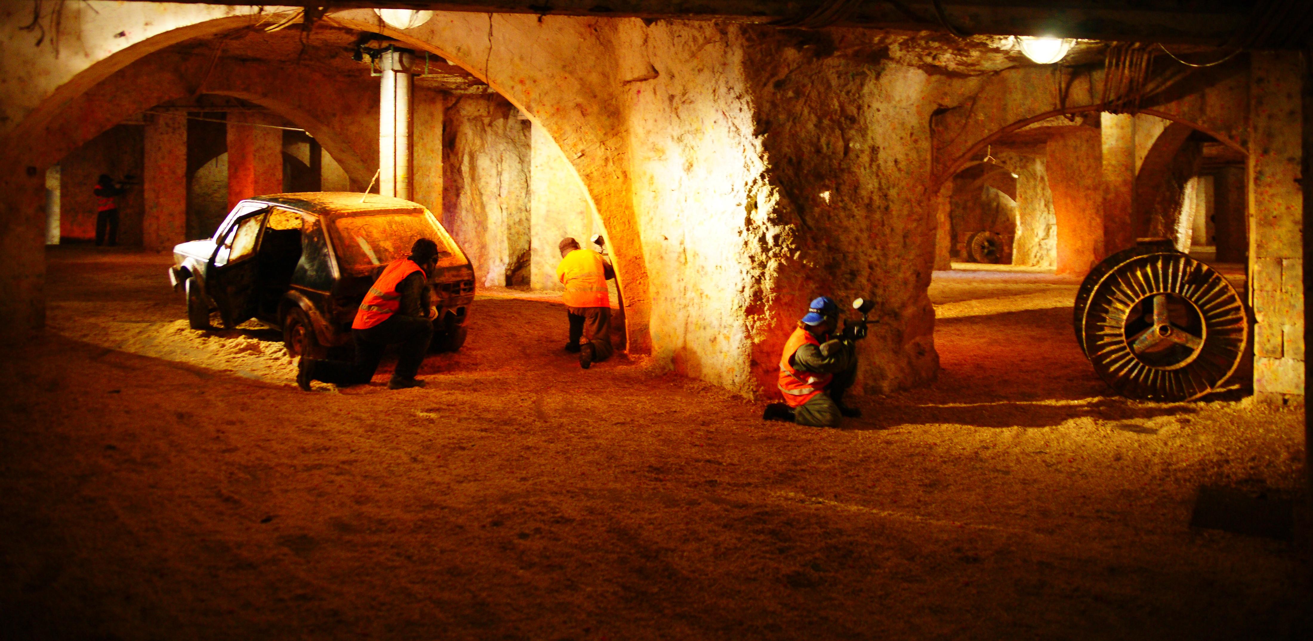 paintball barlang Budapest